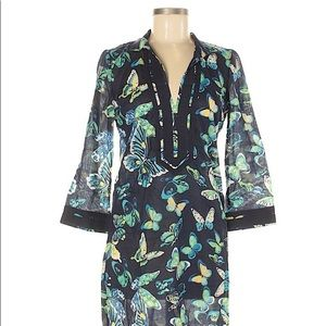Coming soon! Tory Burch Butterfly Tunic Size 4